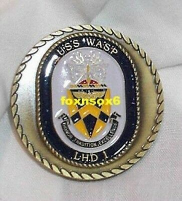 USS WASP LHD-1 Challenge Coin New DISNEY Wasp
