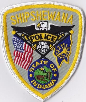 Shipshewana IN Indiana Police Patch NEW