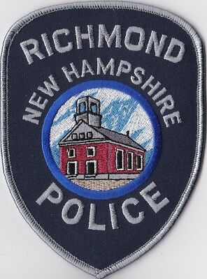 Richmond NH New Hampshire Police Patch NEW!!