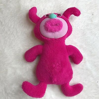 Fisher Price 2010 pink Sing-a-ma-jig plush w/batteries, works, sings notes EUC