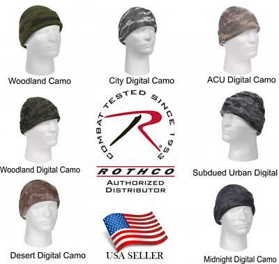 3d05b7c0383 Camo Knit Rothco Camouflage Military Watch Cap Caps Hat Hats Beanie Beanies