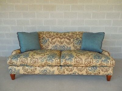Crate & Barrel English Rolled Arm Sofa by Lee Upholstery