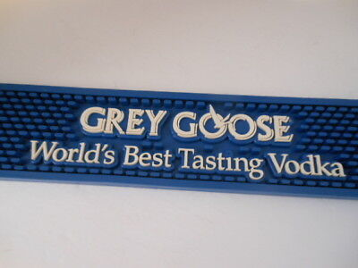 "Grey Goose  ""WORLD'S BEST TASTING VODKA"" Bar Mat"