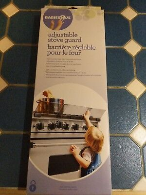 NEW Babies R Us Adjustable Stove Guard NIB