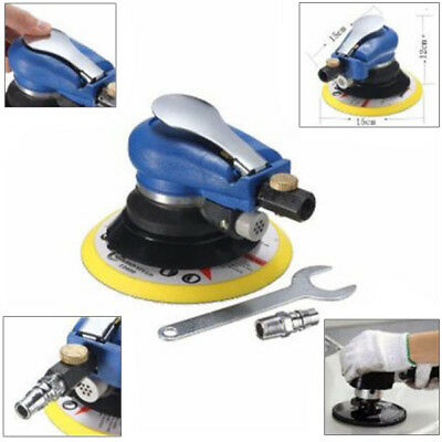 "6"" Air Random Orbital Pneumatic Sander Car Body Orbit DA Low Vibration Practical"