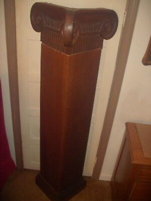 Antique Corinthian Column Carved Capital Wooden Capital Architectural Salvage