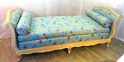 Beautiful French Style Daybed Sofa, Box Spring, Mattress, Pillows*Amazing Piece*