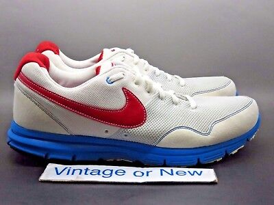 Sample Nike Lunarfly+ USA Track   Field White Sport Red Photo Blue 2010 sz  8.5 aadf324ca158d