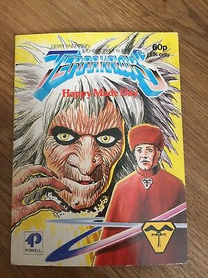 Terrahawks Happy Made-Day Story Book Gerry Anderson Purnell 1984