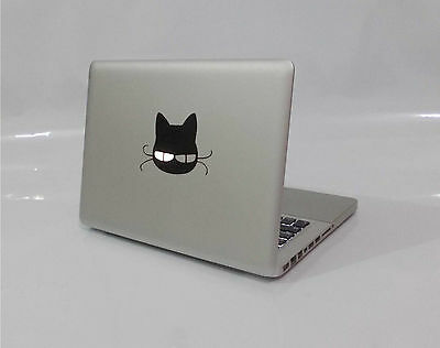New Cute Cat Animal Kitten Pussy Apple Macbook Removable Vinyl Sticker Decal