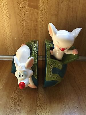 Animaniacs 1998 Pinky & the Brain Salt & Pepper Set WB Studio Store MIOB