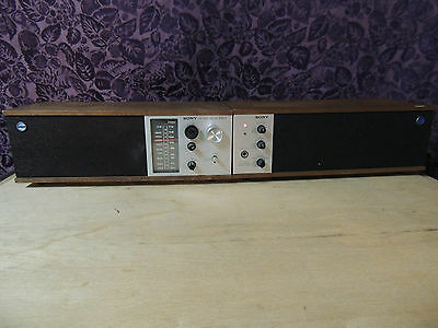Rare Vintage Sony AM FM Table Radio STW-88W STEREO PLAYS BUT IS NOT FULLY TESTED