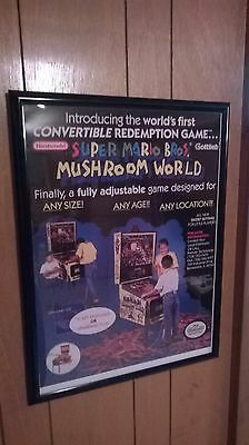 Super Mario Bros. Mushroom World Reproduction Poster - Poster Only