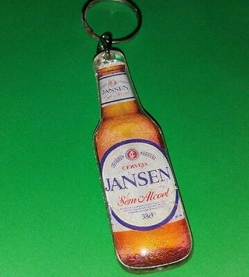 Vintage Jansen beer Keychain Key Ring