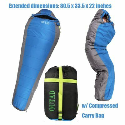 OUTAD Lightweight Camping Compression Stuff Sack Bag for Sleeping Bag Outdoor BP