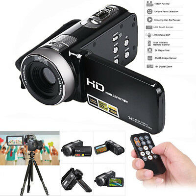 Wifi Full Spectrum Camcorder 1080P Full HD Infrared Night Vision 24MP 16 Zoom BP
