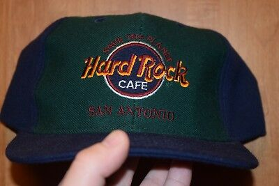 Vintage Hard Rock Cafe Love All Save All Snapback Hat Baseball Cap Rare Retro