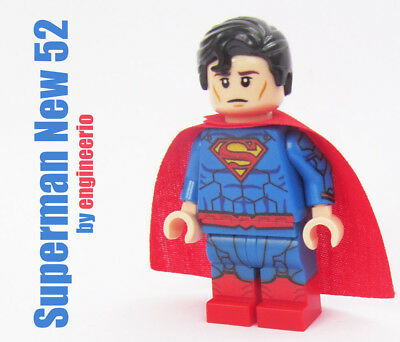 LEGO Custom -- Superman New 52 -- DC Super heroes minifigures