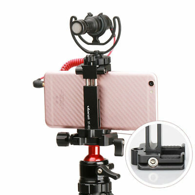 Ulanzi St-03 Metal Smart Phone Tripod Mount Cold Shoe Mount And Arca-Style Maste