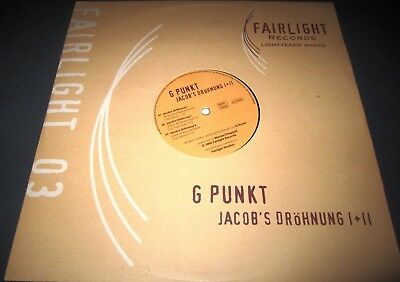 "G Punkt - Jacob's Dröhnung I + II  12""  Vinyl  Fairlight Records Hardstyle"