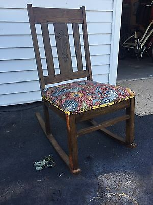 Antique Rocking Chair - Adorable Over 150 Years - Rare Find - Exc Condition