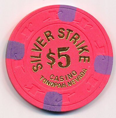 Silver Strike Casino Tonopah 2Nd Issue $5 Chip