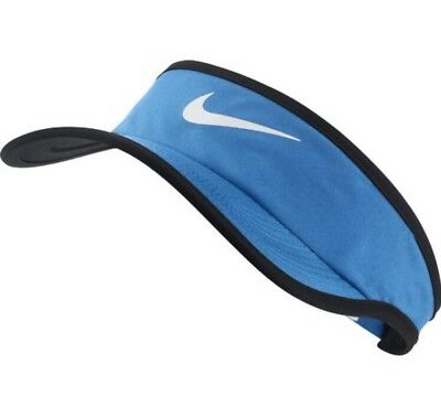 Nike Light Blue Featherlight Visor