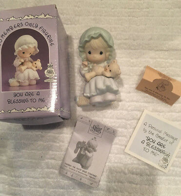 """1990 Precious Moments SPECIAL EDITION """"You are a Blessing to Me"""" PM902"""