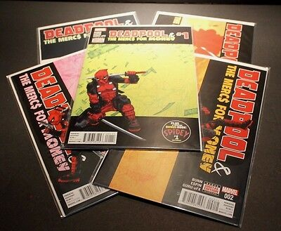 Deadpool And The Mercs For Money 1-5 Complete Set Marvel 2016