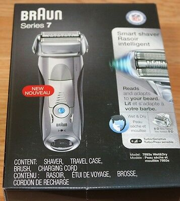 Braun Series 7 7893s Smart Wet and Dry Shaver