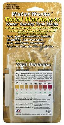 WaterWorks Total Hardness Water Quality Test Strips Field Onsite & Lab