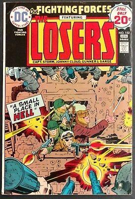 Our Fighting Forces #152 1974 Sharp Fn-- The Losers All Kirby Issue+Cover