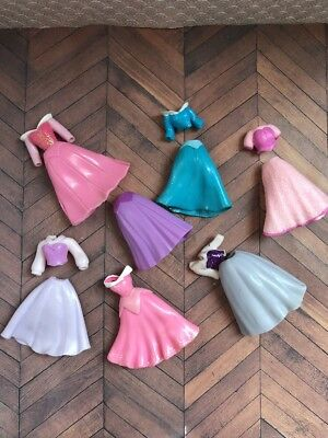 Sleeping Beauty Disney Parks Pink Mini Fashion Doll Barbie Polly Pocket Type