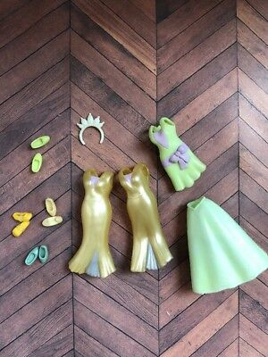 Tiana Frog Princess Disney Parks Pink Mini Fashion Doll Barbie Polly Pocket Type