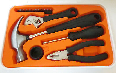 Tool Sets Ikea 001.692.54 Fixa Tool Kit 17-Piece  Gently Used Great Starter Set