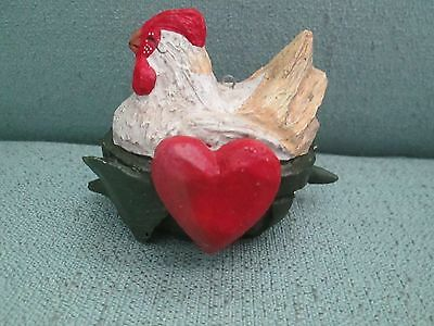 1989 House of Hatten 3 Three French Hens Twelve Days Of Christmas Ornament 12