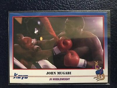 "JOHN ""The Beast"" MUGABI  2001 KAYO Boxing #236  NM/MT+ w/Top Loader!"