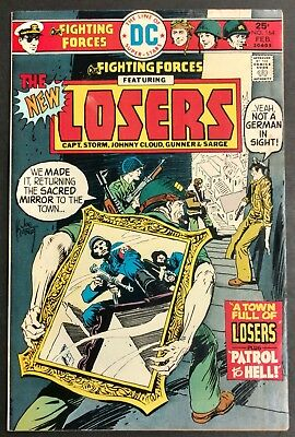 Our Fighting Forces #164 1976 Sharp Fn-- The Losers Joe Kubert Cover