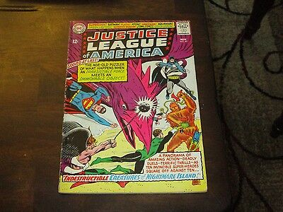 Justice League Of America #40 Mid Grade 3Rd Silver Age Penguin Appearance!!