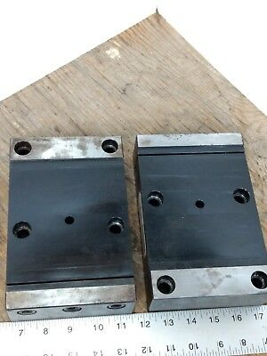 Lot 2 Workholding Fixtures Jergens 5 Axis Fixture Pro Quick Change Dovetail Vise