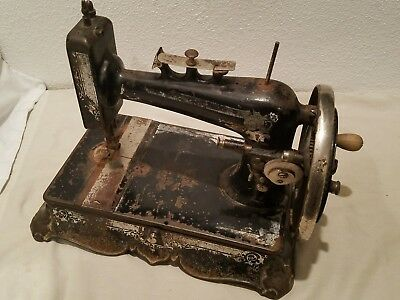 ANTIQUEVINTAGE NEW NATIONAL Hand Crank Sewing Machine Maquina De Beauteous New Hand Crank Sewing Machine