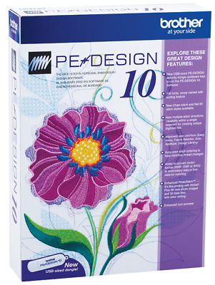 Brother PE Design 10.2 Embroidery Great Feature Full Version Lifetime Activation