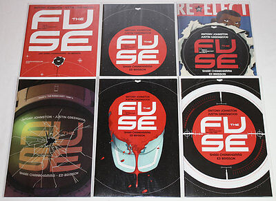 The Fuse #1-6 The Russian Shift Complete Run (Lot of 6) Image Comics