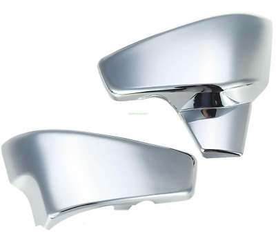 Chrome Battery Side Covers Fit Honda VT 600 C CD Shadow VLX Deluxe 1999-2007