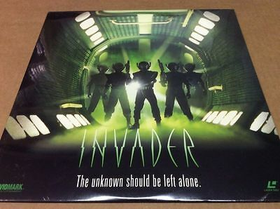 Invader - The Unknown Should Be Left Alone Laserdisc Sealed BRAND NEW