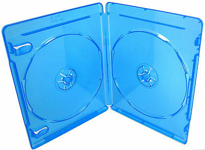 Quality Bluray Blu-ray Cover Cases BD-R Disc Single Double Holds 6 11mm 22mm