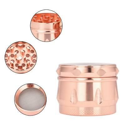 4-layer 40mm Metal Herb & Spice Mills Tobacco Grinder Spice Graters Cursher