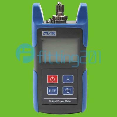 Mini Handheld Optical Power Meter With FC SC Connector -70~+10dBm ZYE-103 NEW