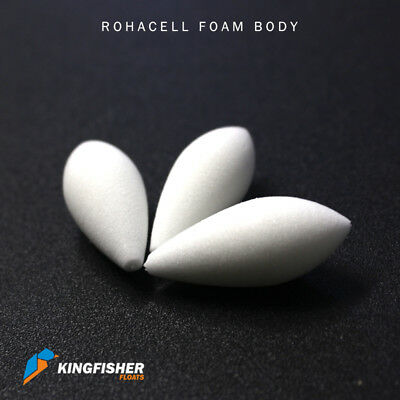 Rohacell 51 HF Foam Fishing Float Body for High Quality Floats Pack of 10 D9
