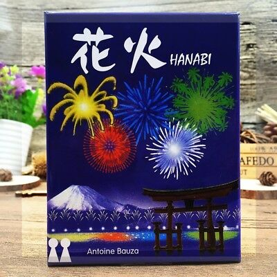 Hanabi Cards Board Game Waterproof